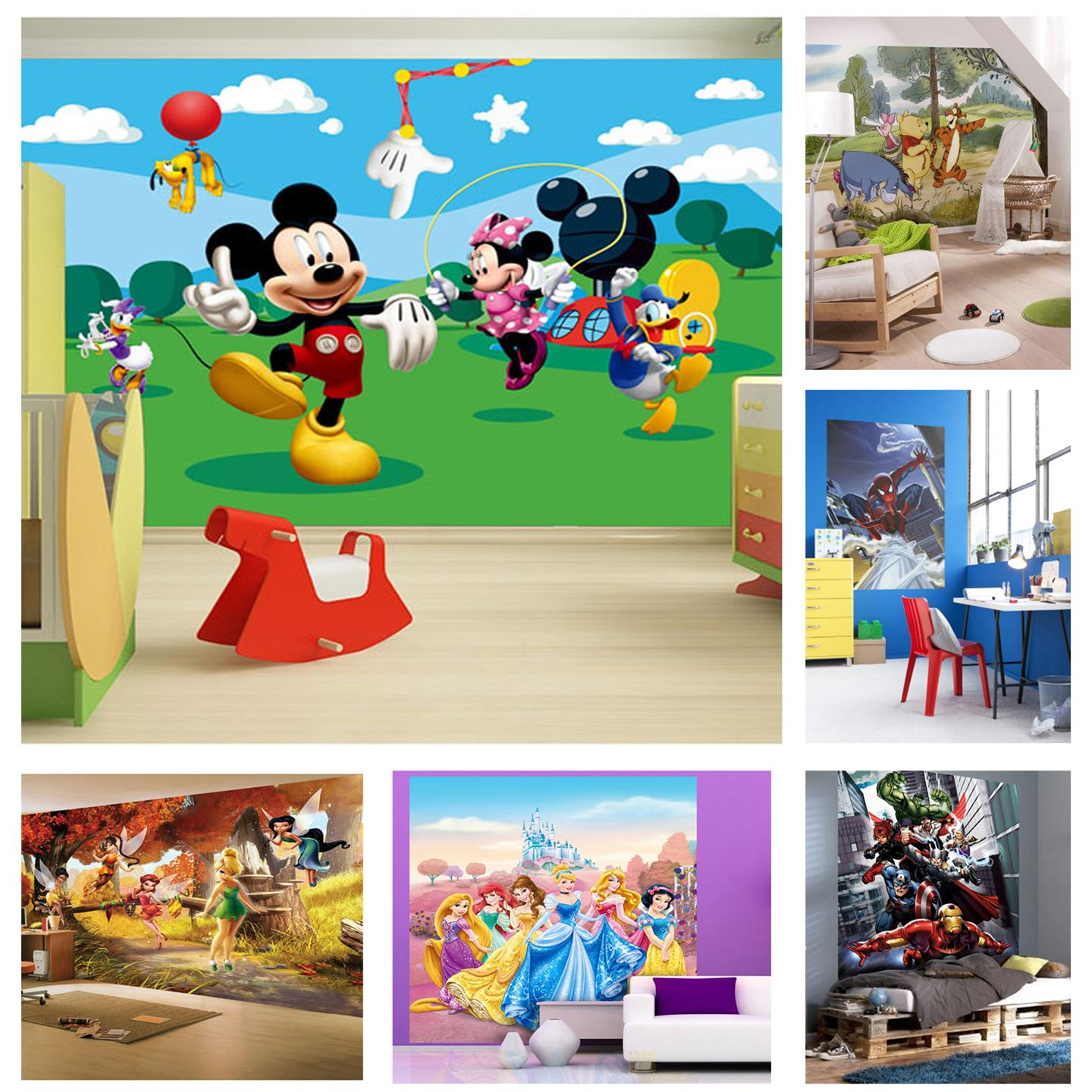 Free download CHILDRENS BEDROOM DISNEY CHARACTER WALLPAPER ...