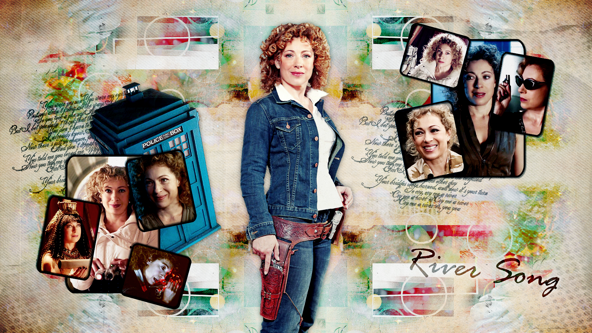 River Song wallpaper by charmingangel22 1920x1080