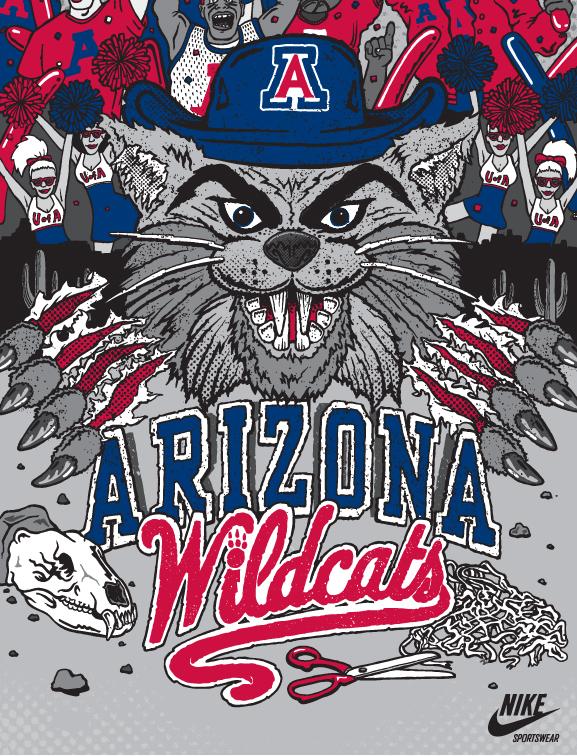 Arizona Wildcats Basketball Wallpaper Desktop Arizona wildcats nike 577x756