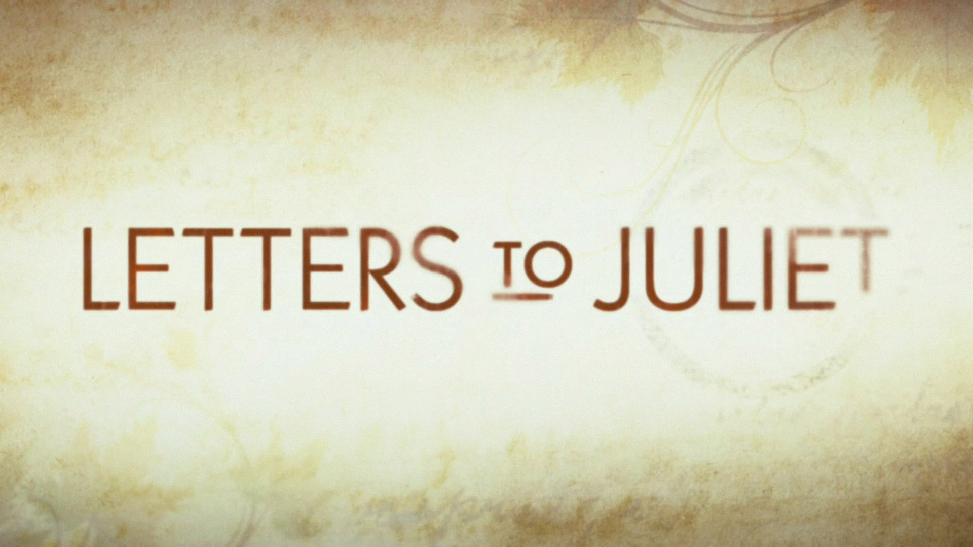 Letters Wallpaper Letter to juliet wallpaper 1920x1080