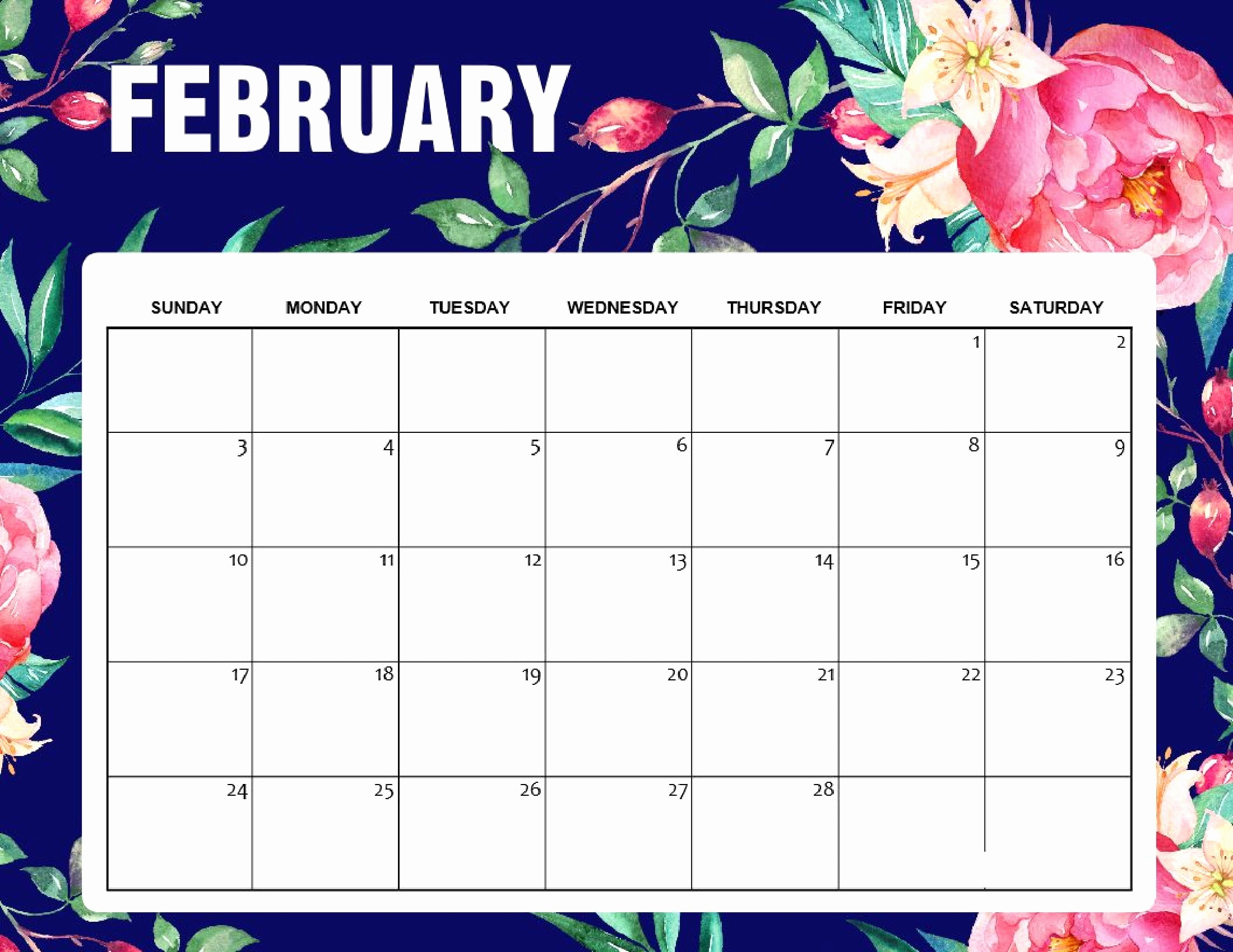 Desktop Wallpaper Calendar 2019 2020 2 February 2019   July 2018 2200x1700