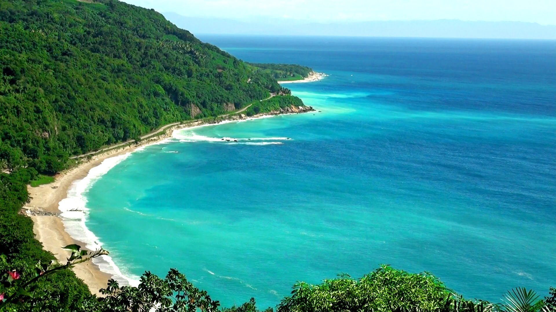 Tropical Island Beach Ambience Sound: Tropical Waves Screensavers And Wallpaper