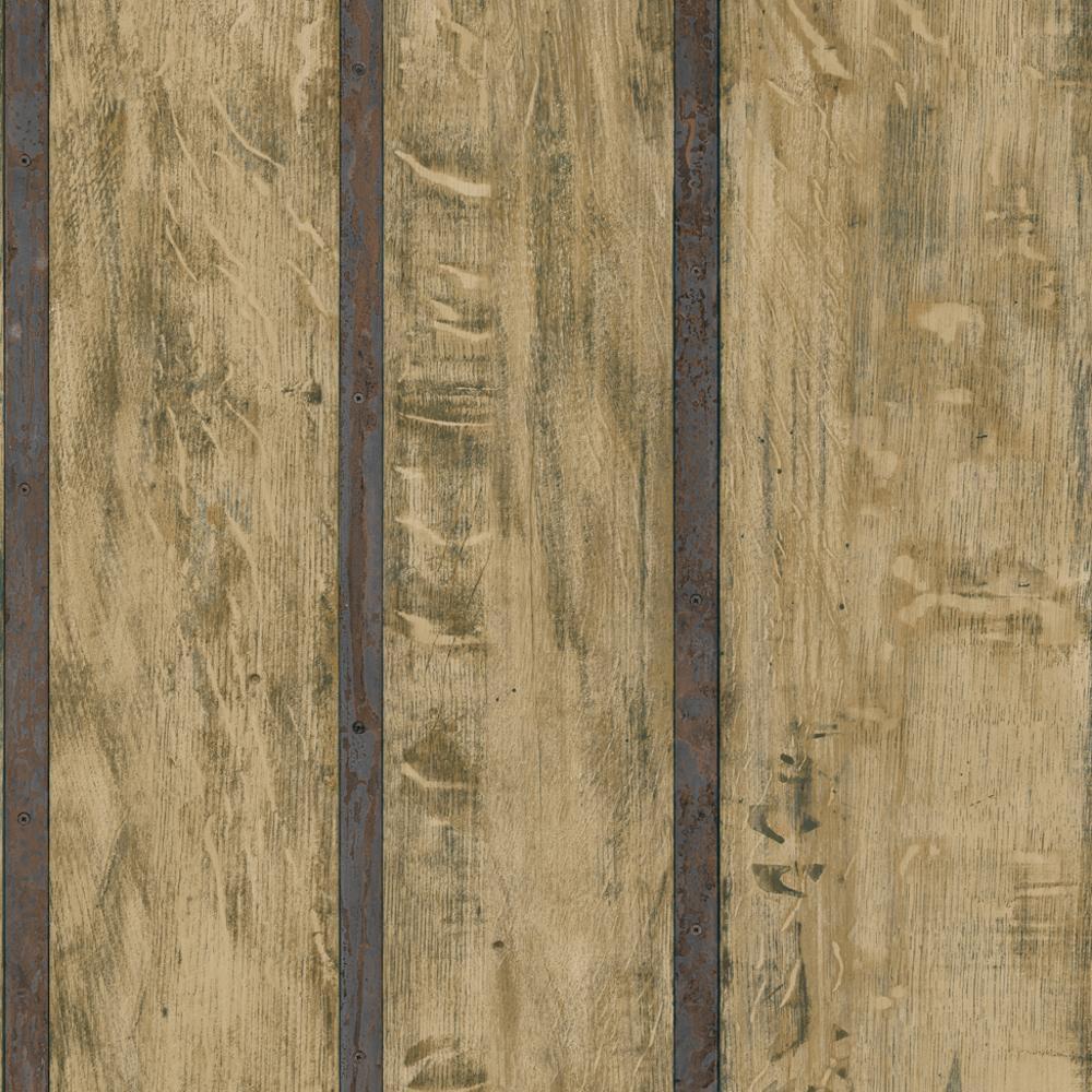 Wood Wall Faux Wooden Panel Beam Effect Textured Vinyl Wallpaper Roll 1000x1000