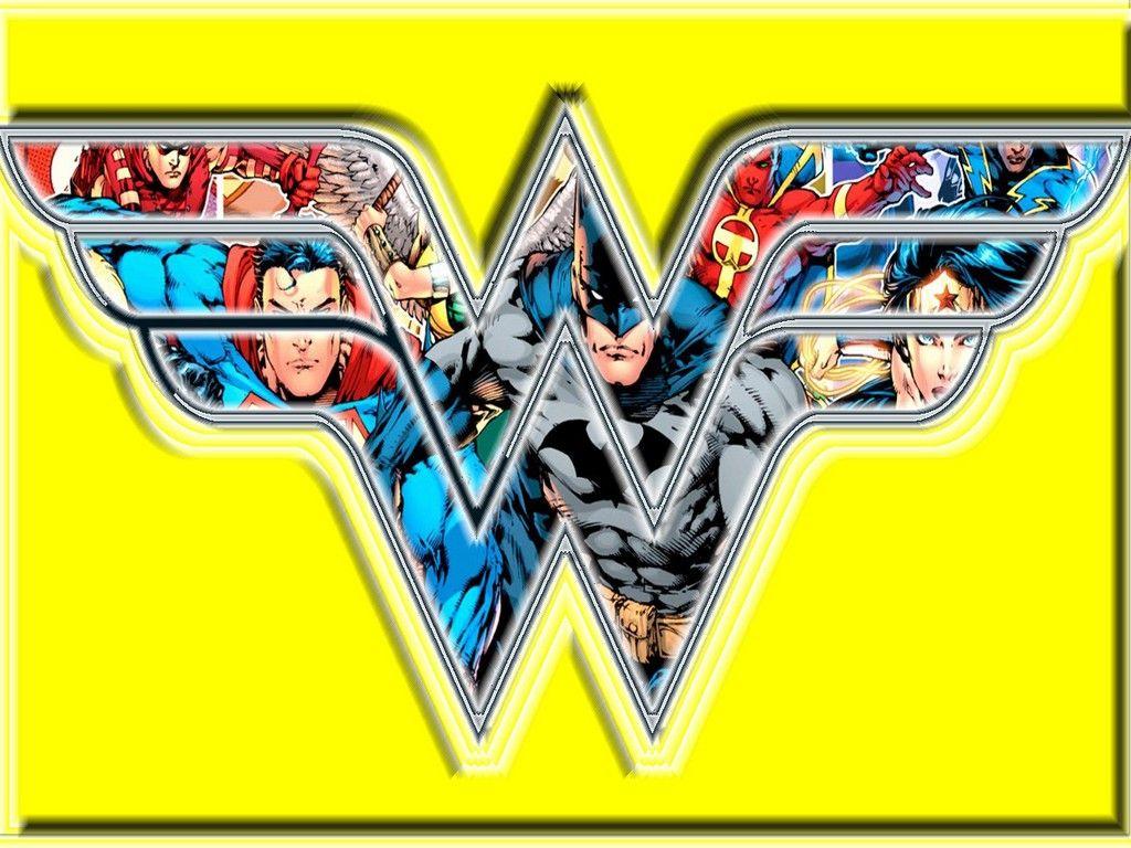 Wonder Woman Logo Wallpapers 1024x768
