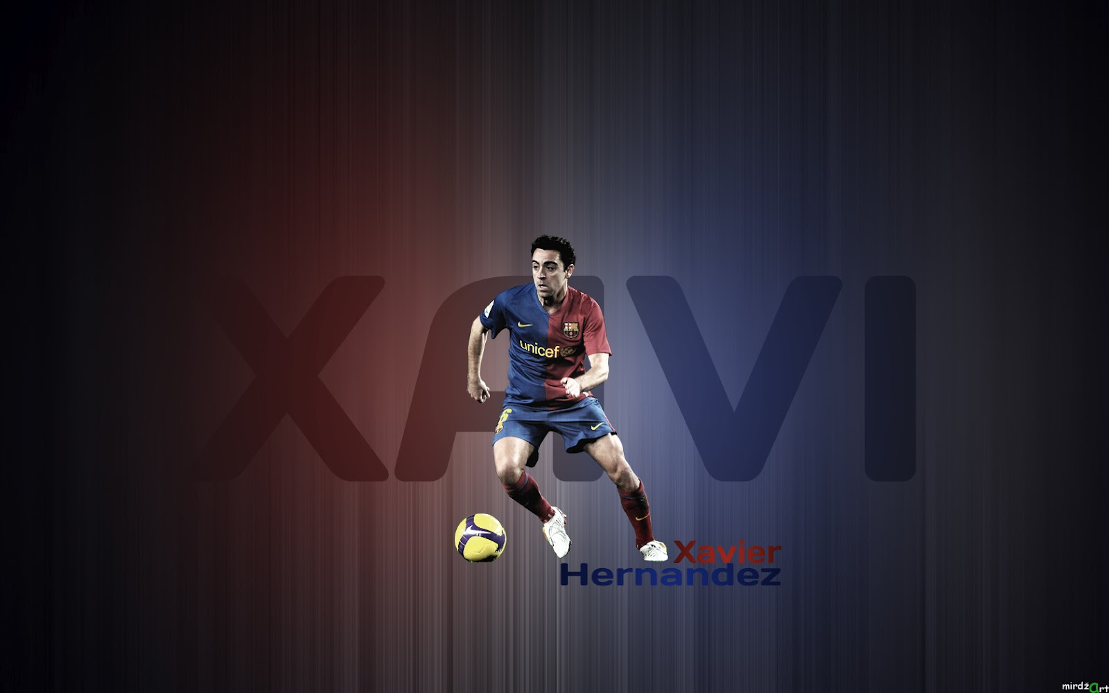 Xavi Hernandez Wallpaper 2012 1600x1000