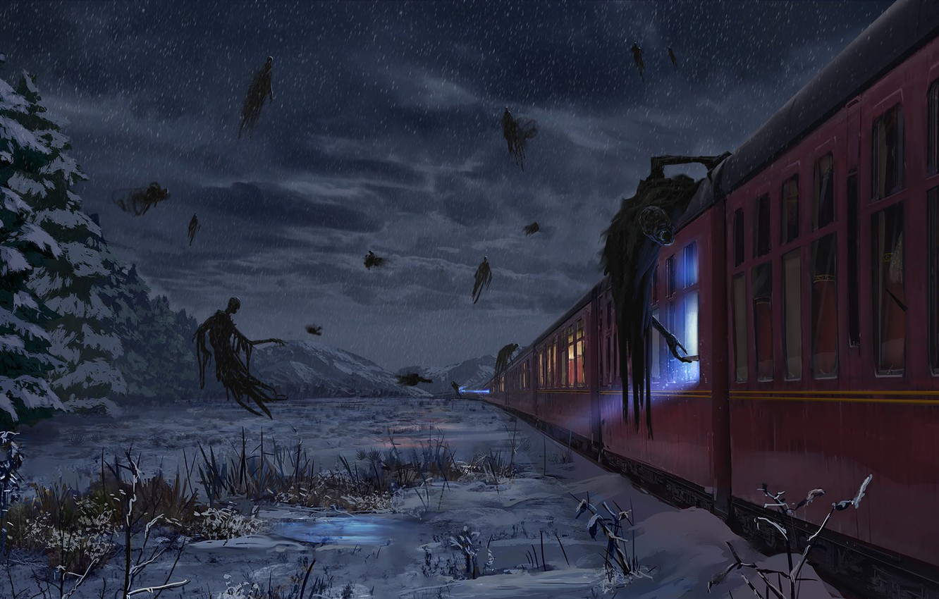 Wallpaper Fantasy Art Hogwarts Express Harry Potter Concept 1332x850