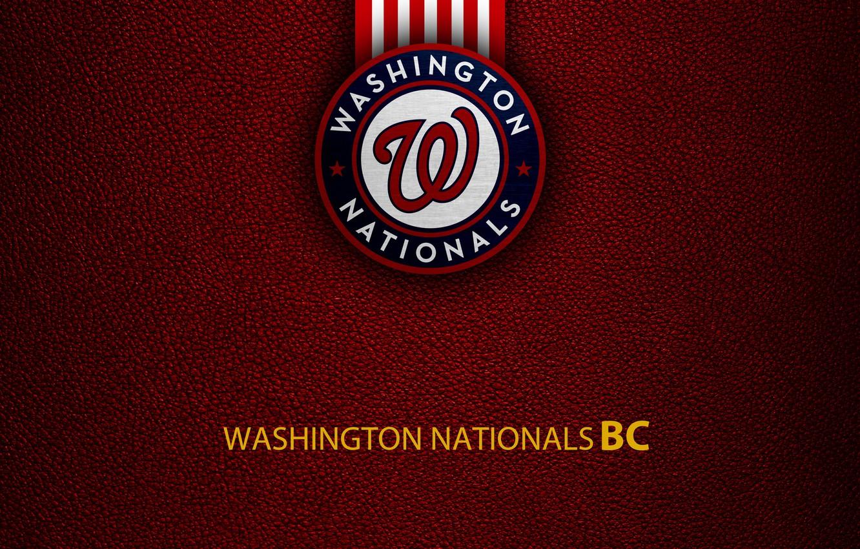 Wallpaper wallpaper sport logo baseball Washington Nationals 1332x850