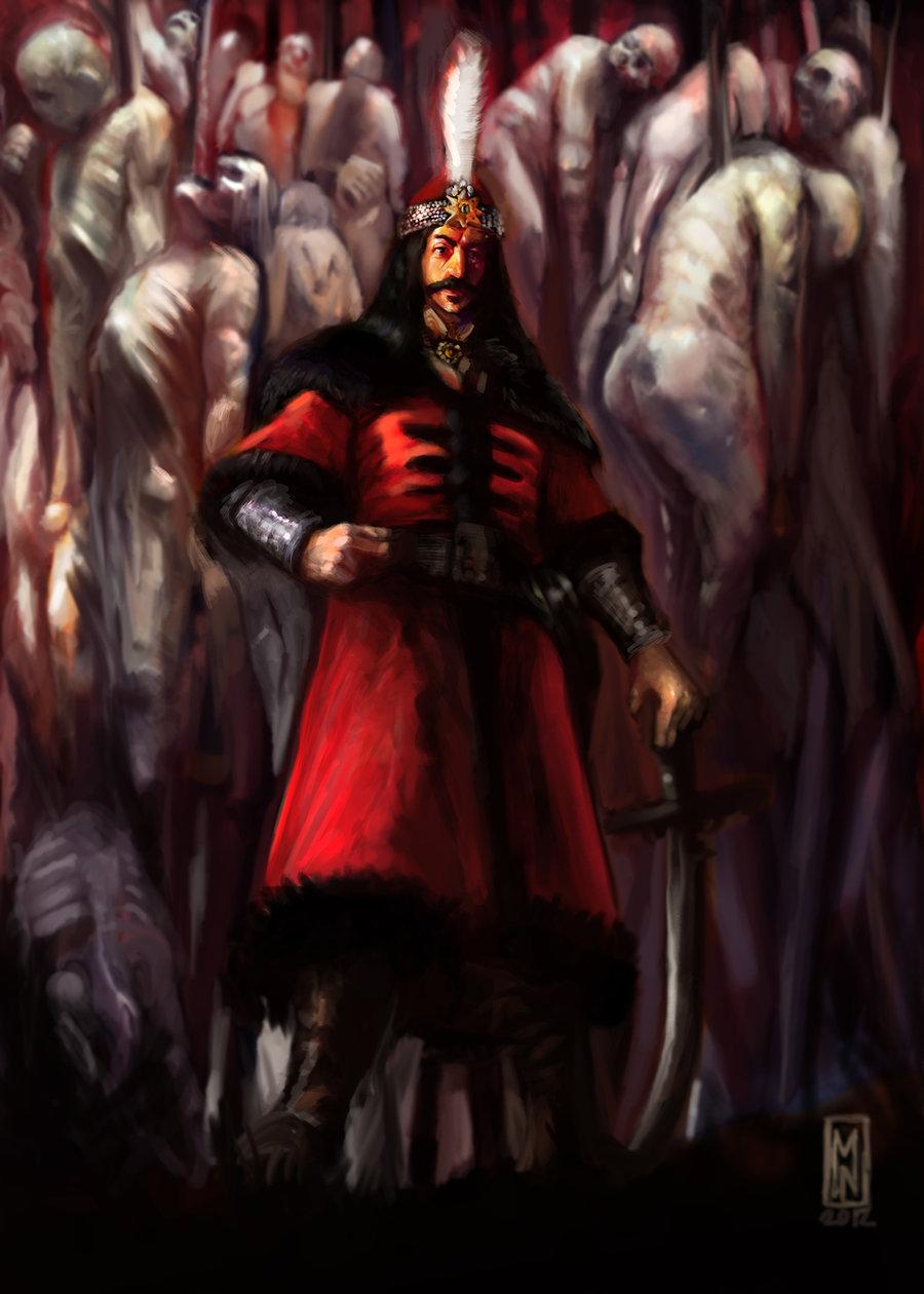 Vlad The Impaler by Mitchellnolte on DeviantArt