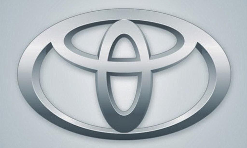 Toyota Logo Wallpaper 1024x614
