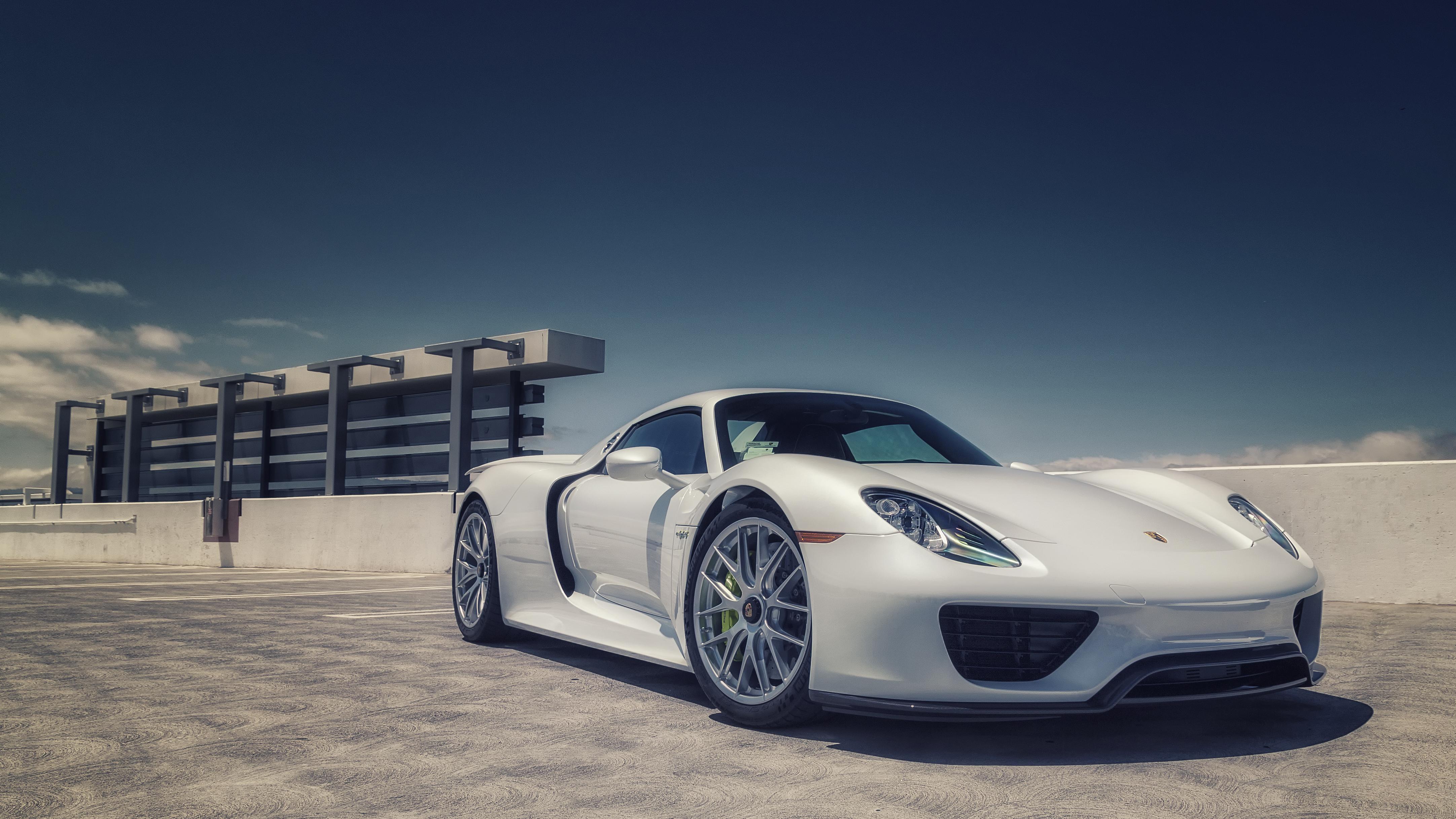 Porsche 918 Spyder 4k Ultra HD Wallpaper Background Image 4328x2434