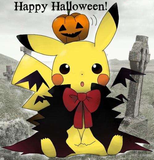 Pokemon Halloween by xXxXBrokenDreamsXxXx 499x519