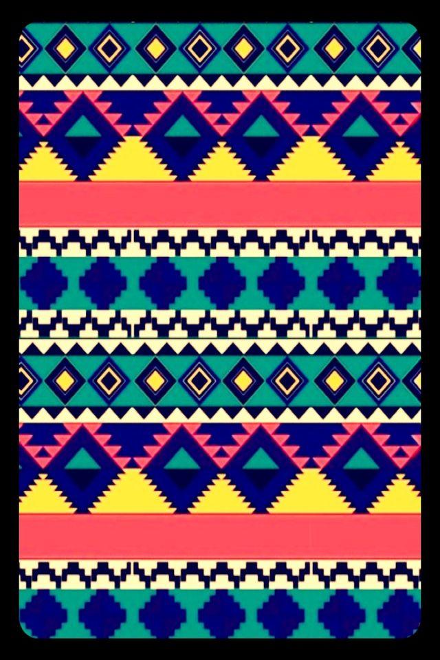CocoPPa greenpurplepinkyellowwhiteblue pattern 640x960