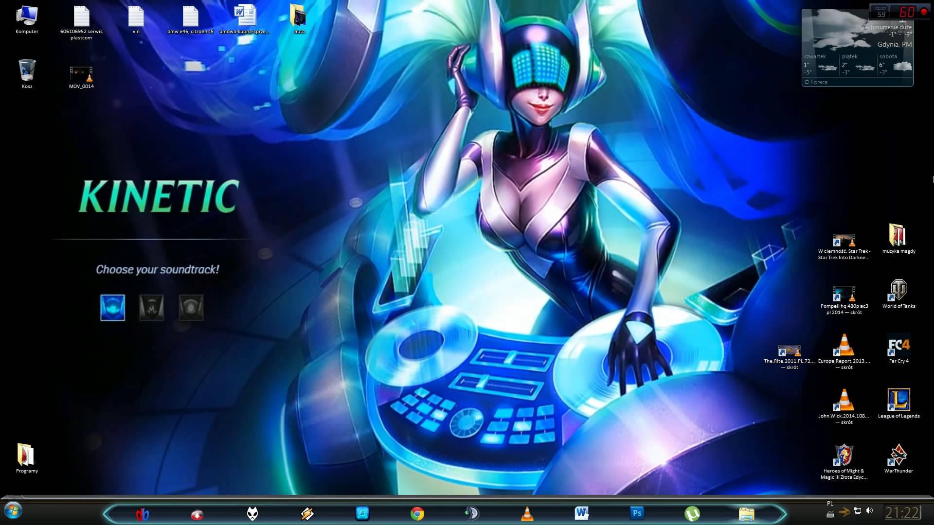 DJ Sona Dynamic Wallpaper 1920x1080