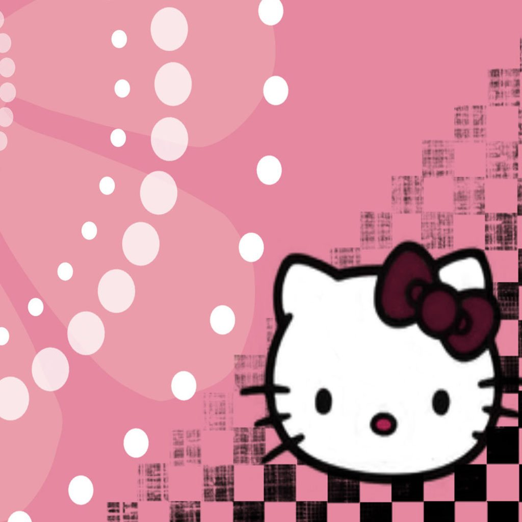 hello kitty Hello Kitty Wallpapers ipad ipad wallpaper 1024x1024