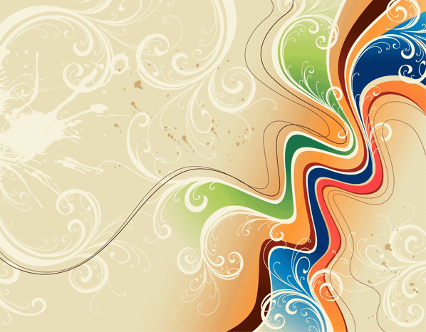 Abstract Vector Wallpaper on this Abstract Graphic Wallpaper website 598x466