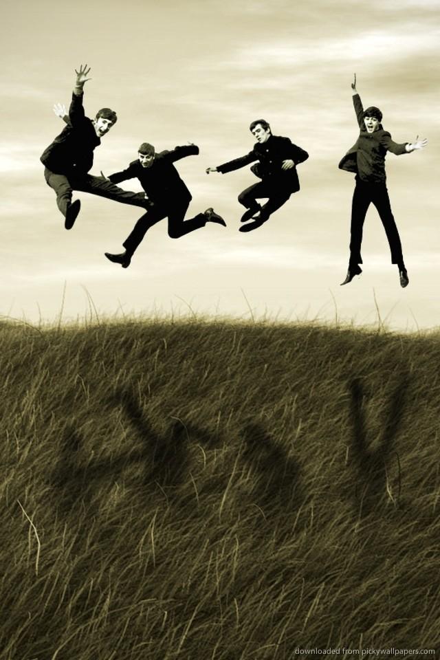 Beatles iPhone Wallpaper - WallpaperSafari