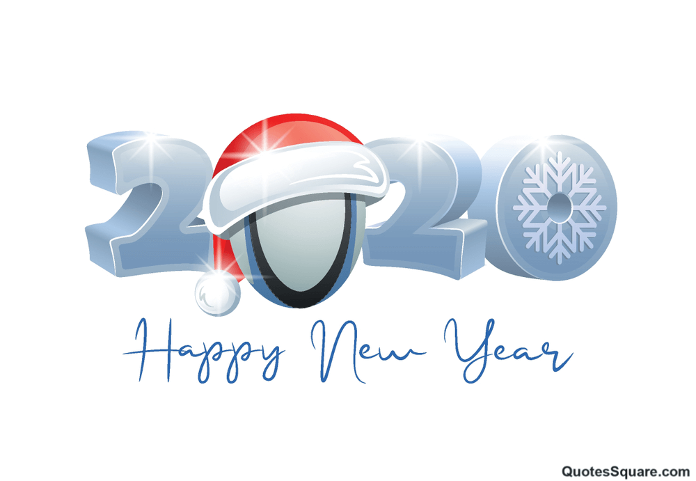 Happy New Year 2020 And Merry Christmas Cold Snow Image Wallpaper 1000x691