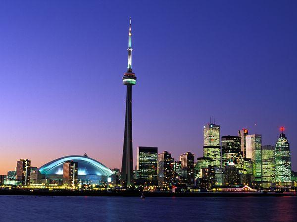 Torontonightskylinewallpaper 600x450