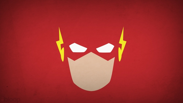flash superhero red background blo0p Red Wallpapers 600x337