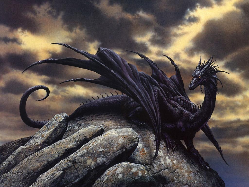 Fantasy Wallpaper Black Dragon Fantasy Hd Wallpapers Wallpapers Box 1024x768