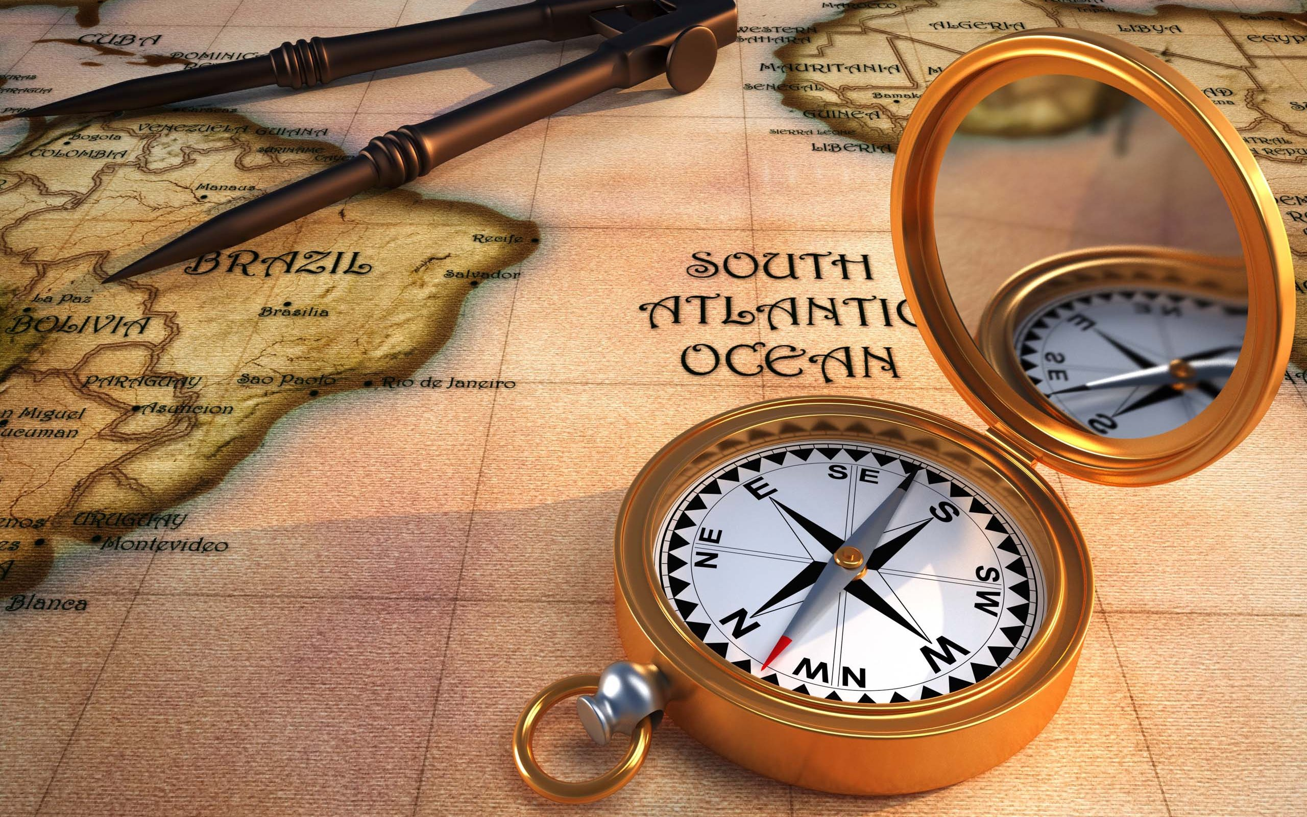 12 Compass HD Wallpapers Background Images 2560x1600
