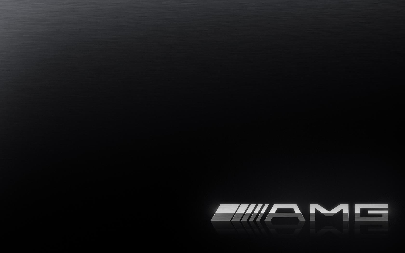 AMG Logo Wallpaper 1680x1050