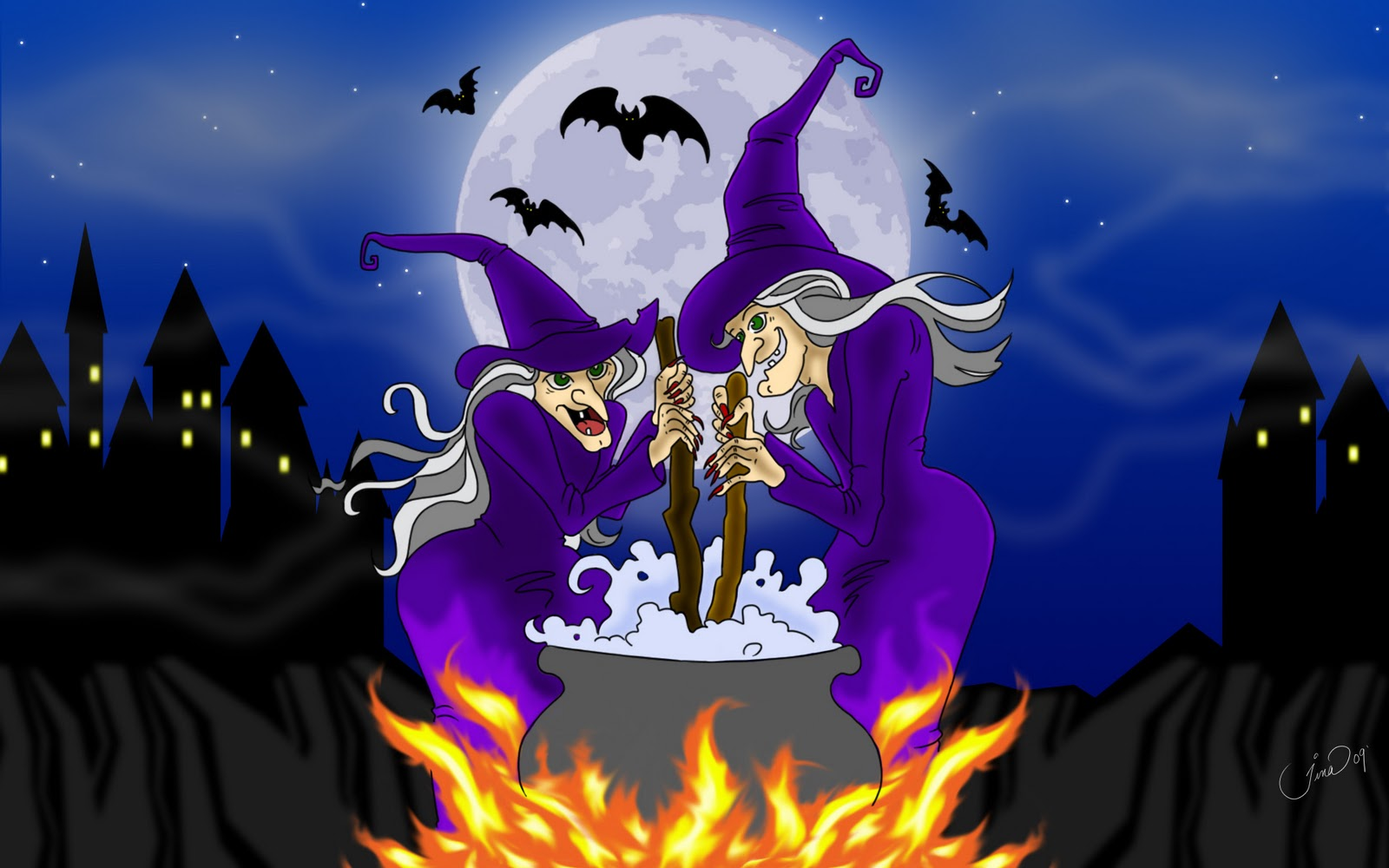 Halloween Wallpaper Screensavers - WallpaperSafari