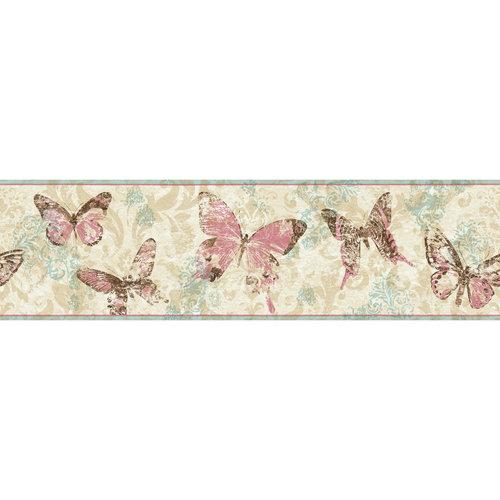 Homes and Gardens Butterflies Border Paint Home Decor Walmartcom 500x500
