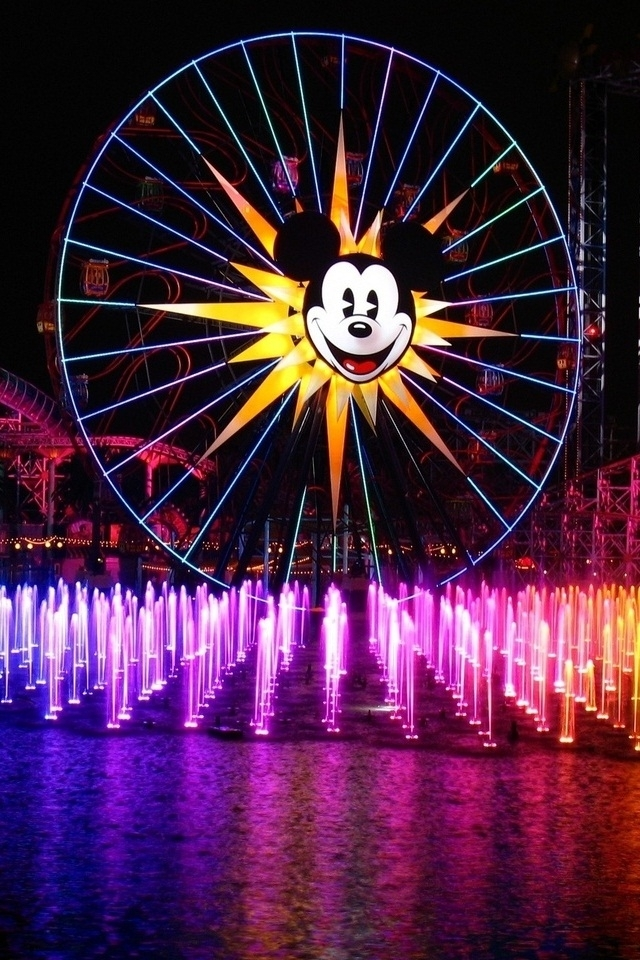 Disneyland Micky Mouse HD Wallpaper for iphone 4iphone 4S 640x960