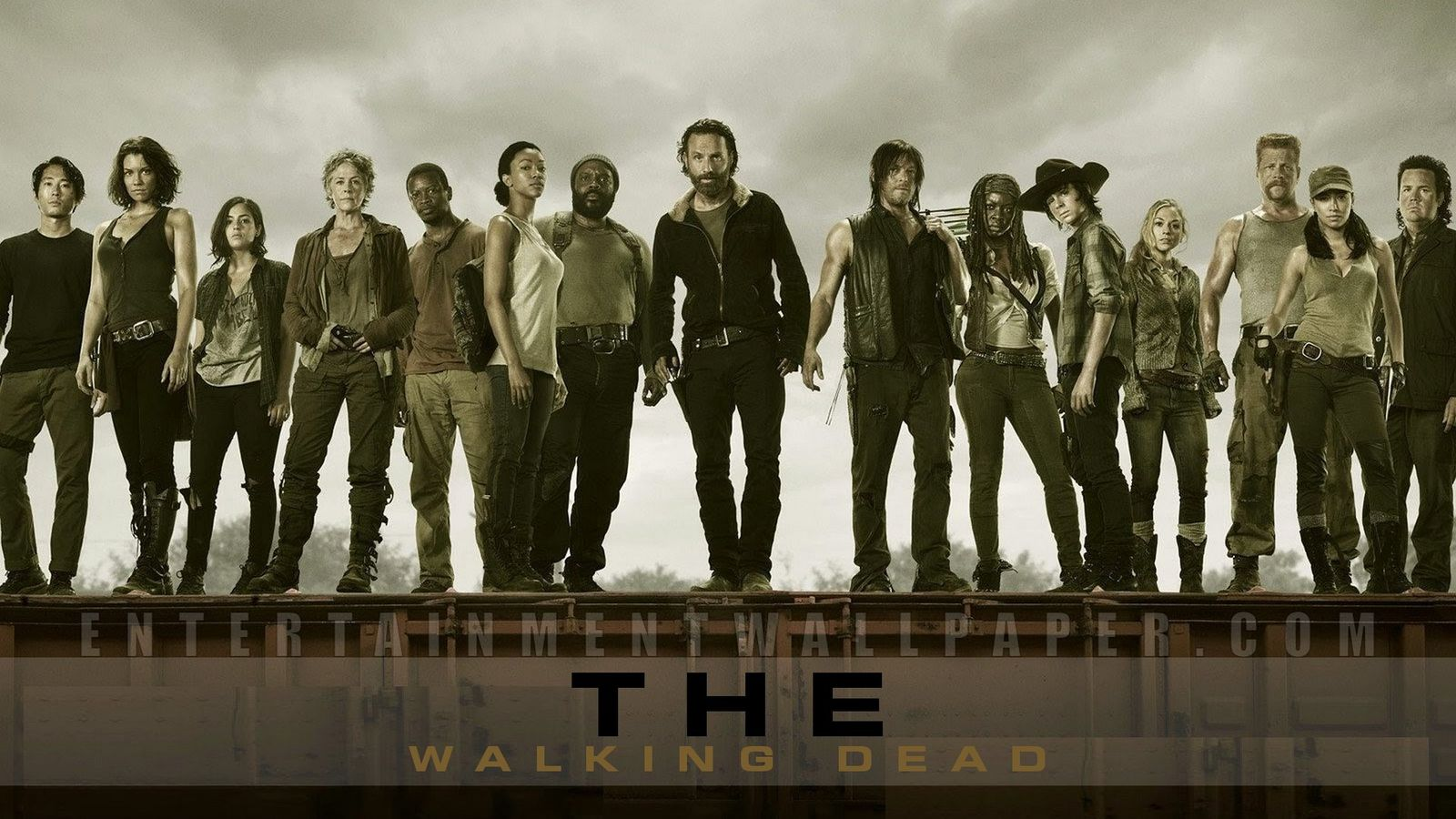 48 Walking Dead Dual Monitor Wallpaper On Wallpapersafari