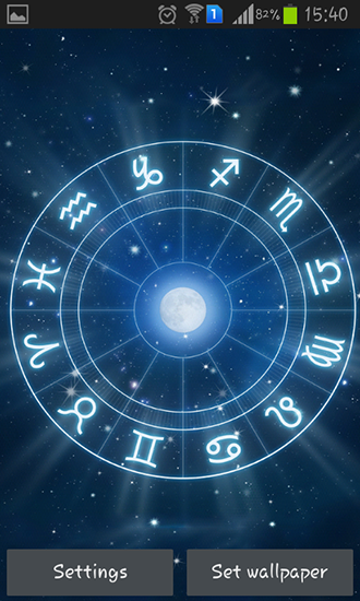 Zodiac live wallpaper for Android Zodiac download for tablet and 330x550