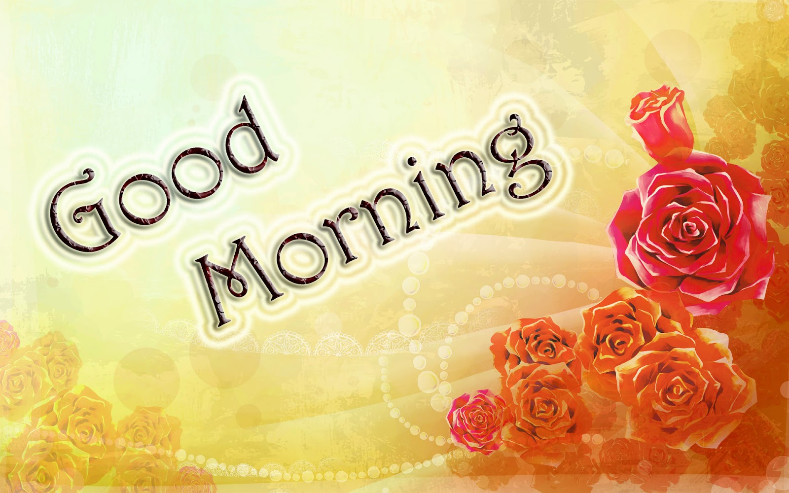 Lovely and Beautiful Good Morning Wallpapers Allfreshwallpaper 1600x1000