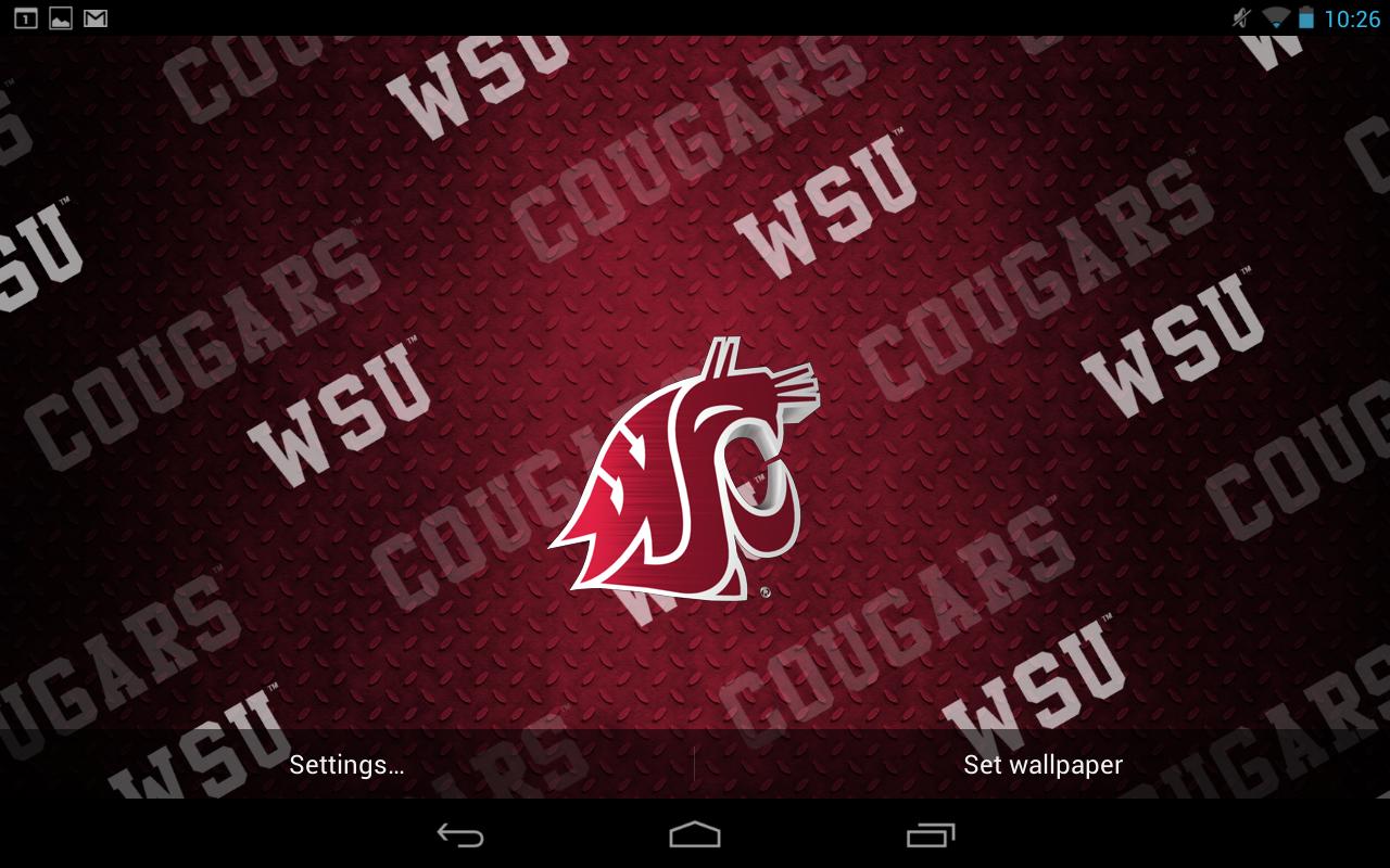 Wsu Cougar Wallpaper 1280x800