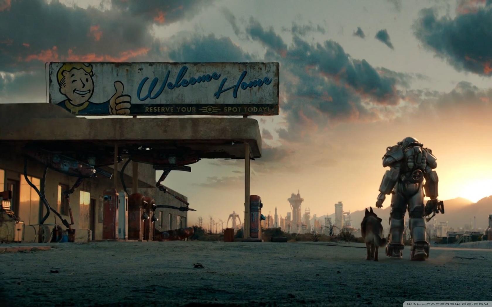 Fallout 4 Trailer 4K HD Desktop Wallpaper for 4K Ultra HD TV 1680x1050