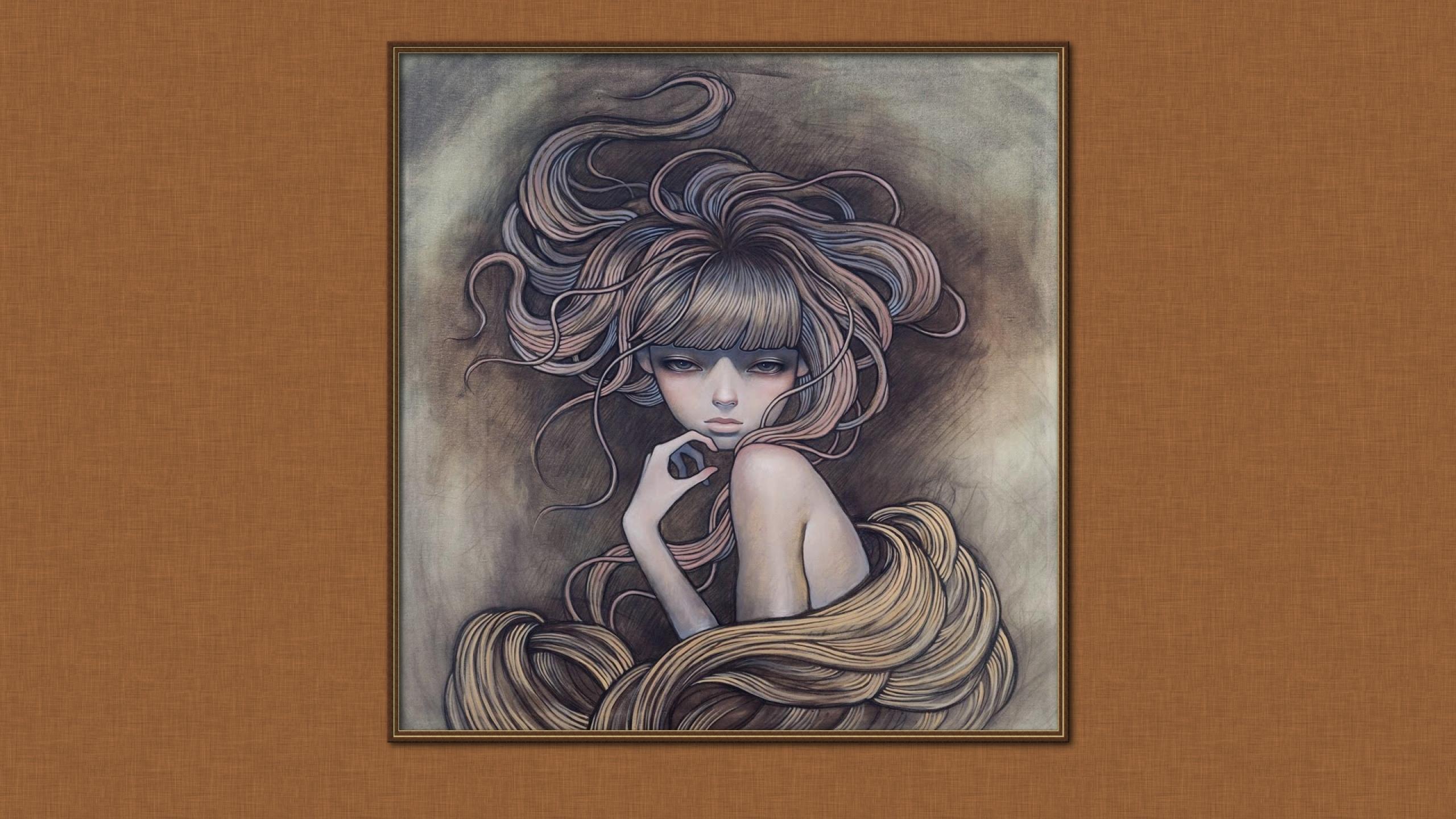 audrey kawasaki 1920x1080 wallpaper Wallpaper Wallpapers 2560x1440