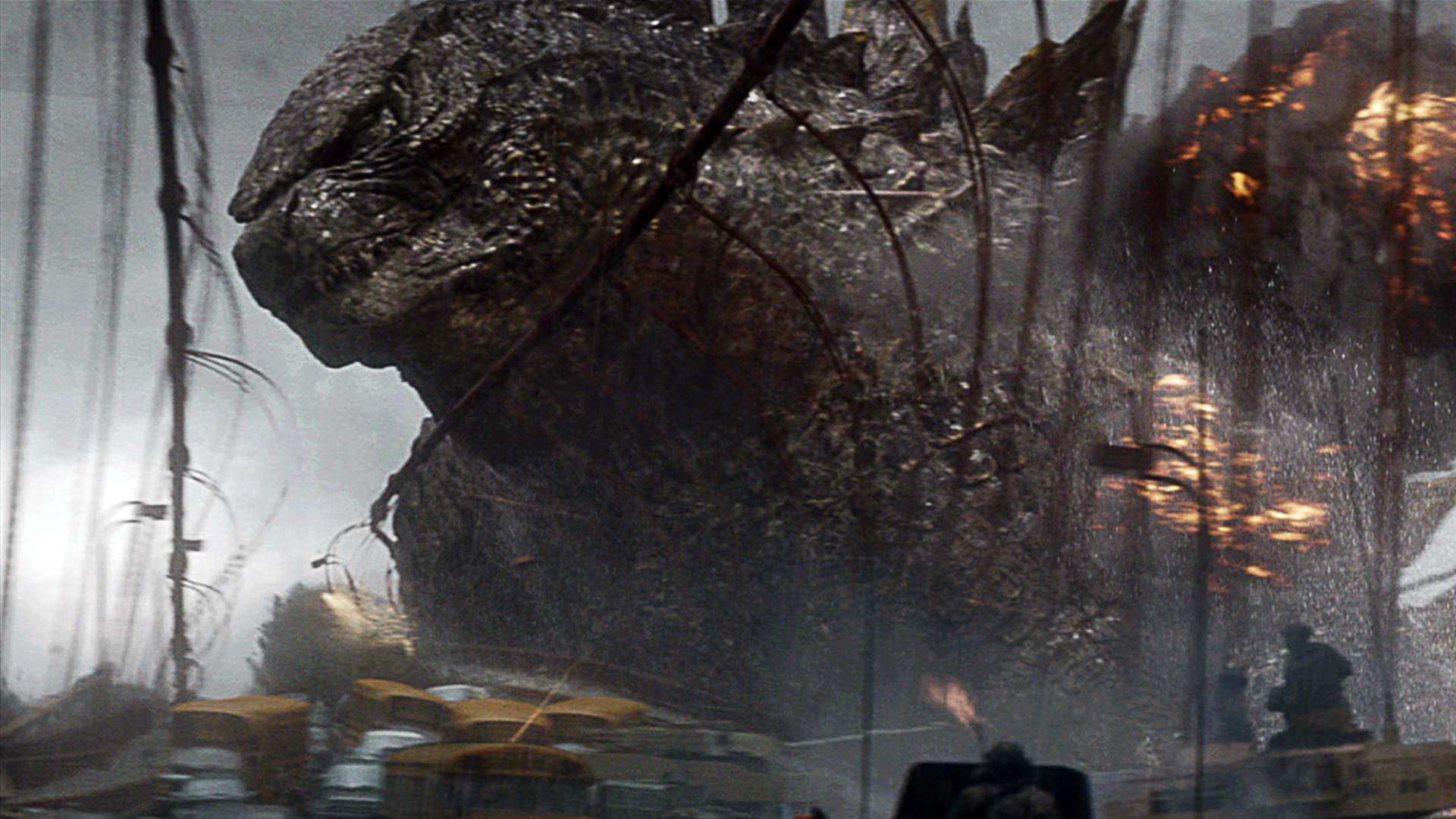 Godzilla 2014 Wallpaper Background Deskto 3496 Wallpaper Cool 1920x1080