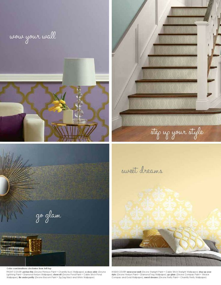 Devine Color Paint and Wallpaper Inspiration Guide by Devine Color 736x952