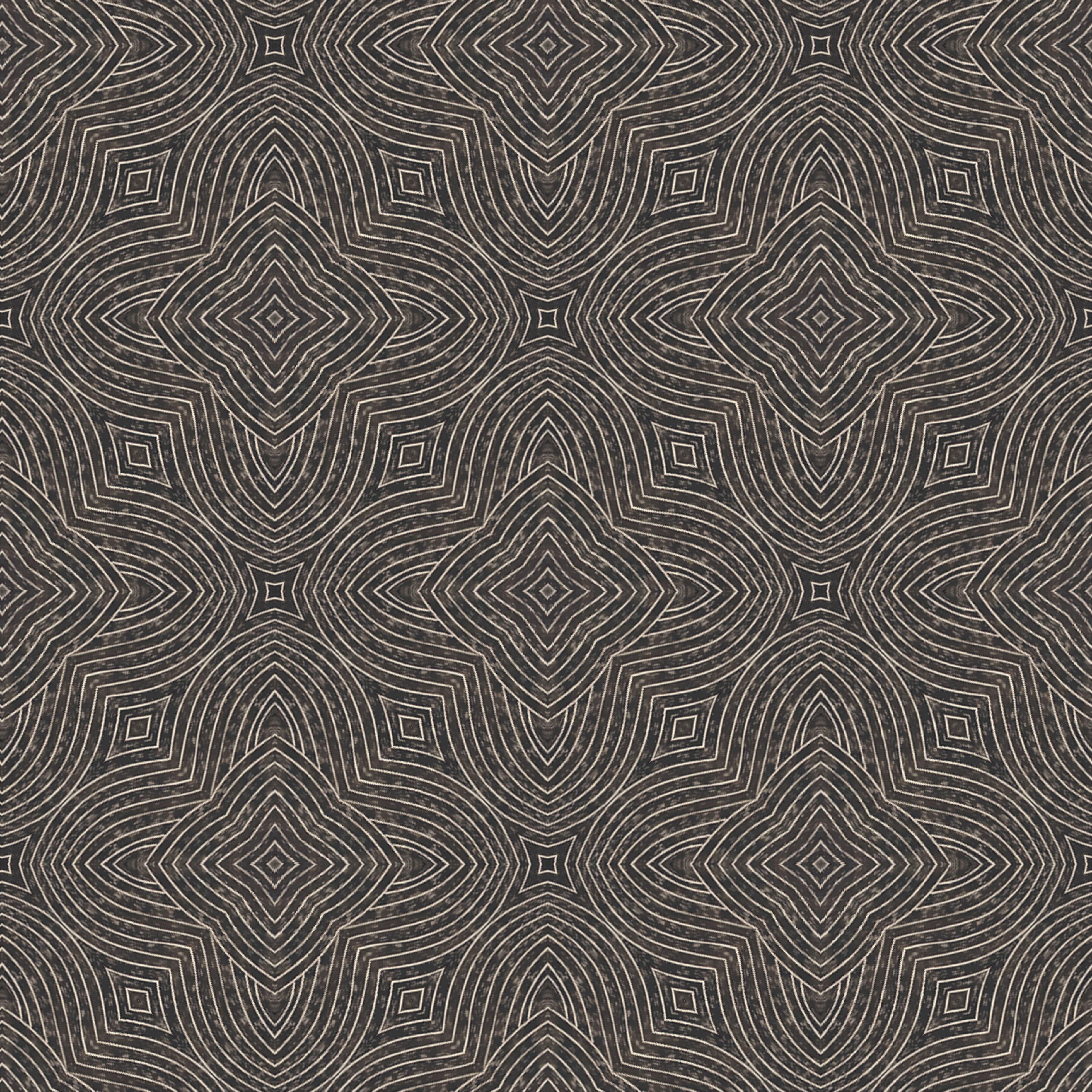 Arbor Quad Wallpaper   ABRA 2018 Collection Mitchell Black Home 3457x3457