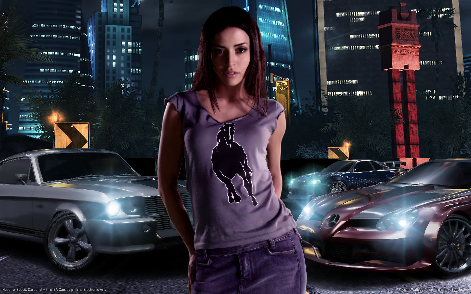 Car Girl Download HD Wallpapers 16491   HD Wallpapers Site 1920x1200