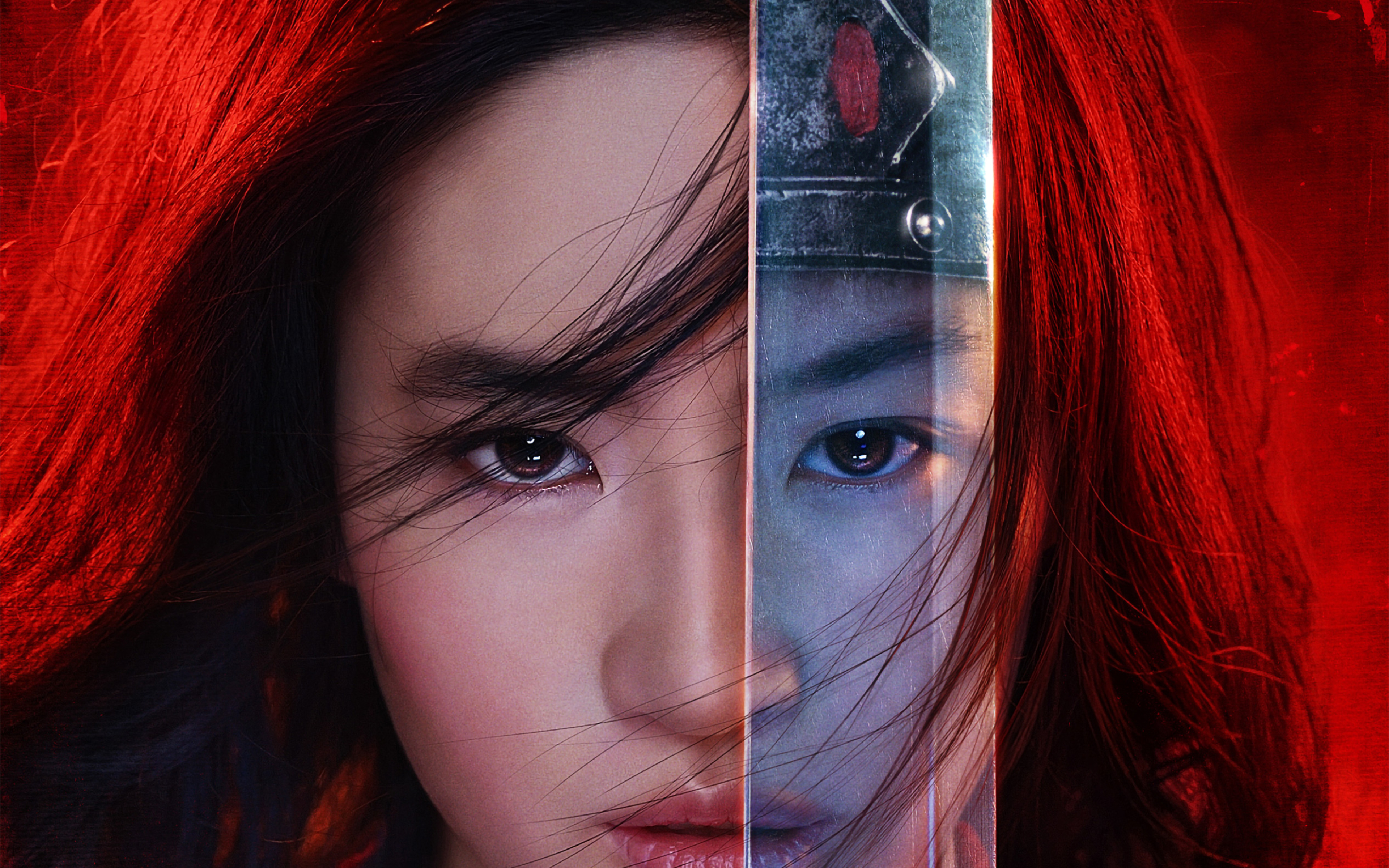 HD Mulan 2020 Movie Poster 38402400   Wallpaper Hook 3840x2400