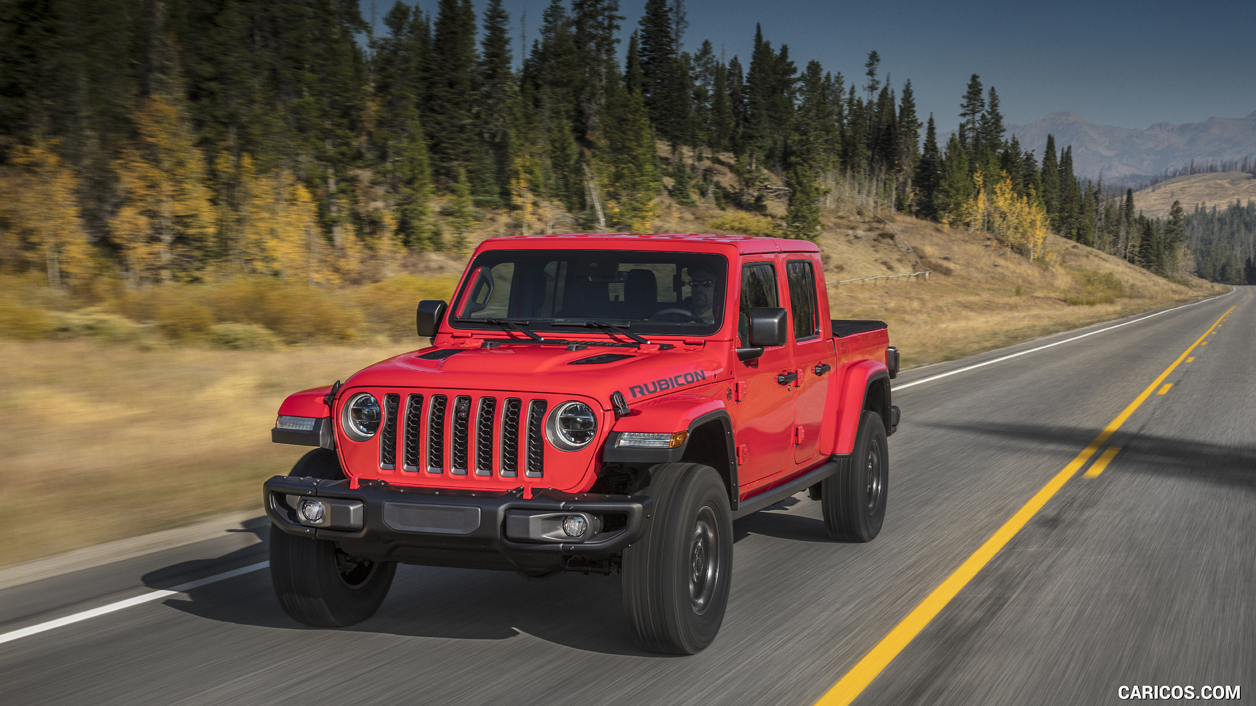 2020 Jeep Gladiator Rubicon   Front HD Wallpaper 12 2560x1440