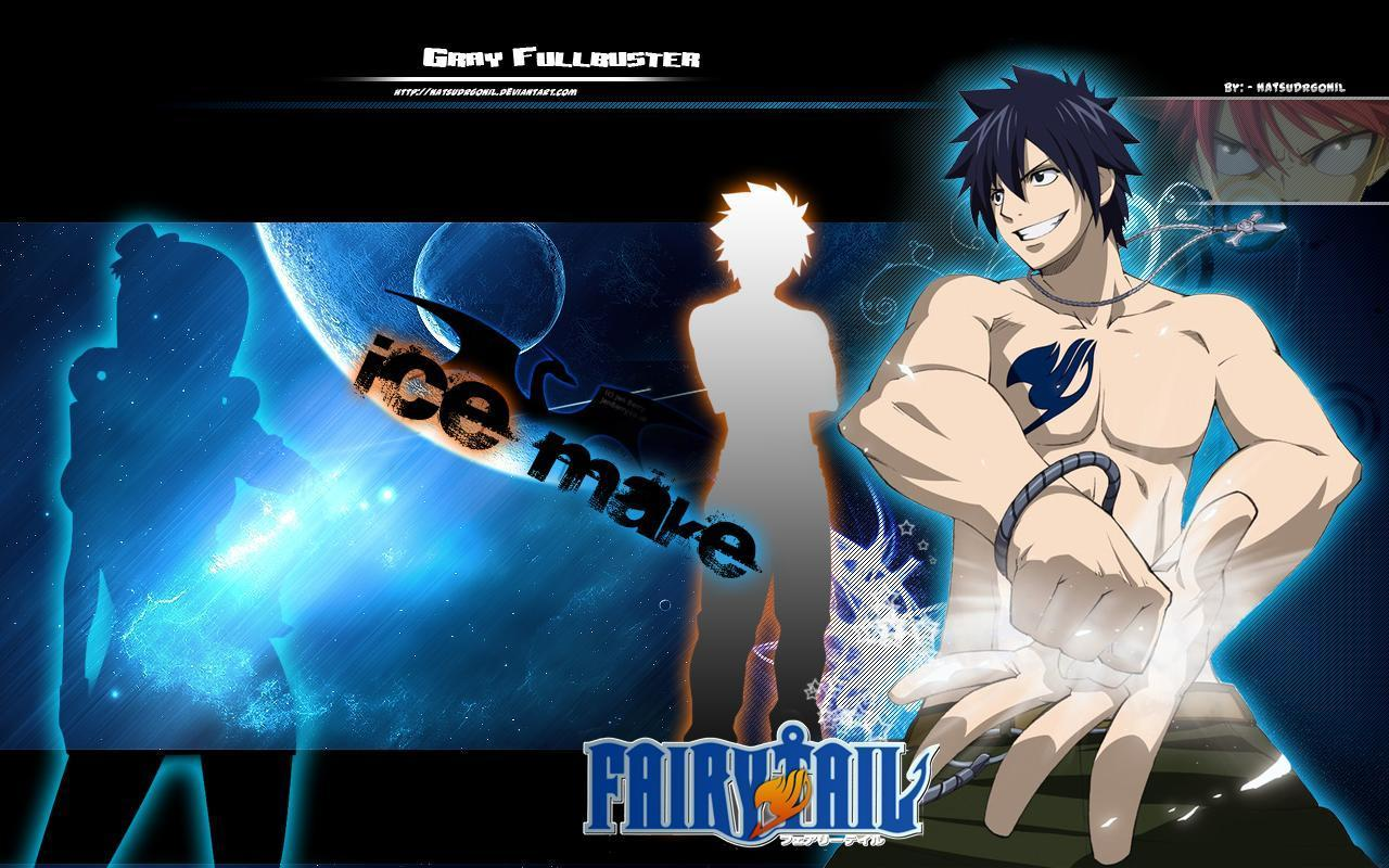 Fairy Tail Gray Wallpaper HD Wallpapers on picsfaircom 1280x800