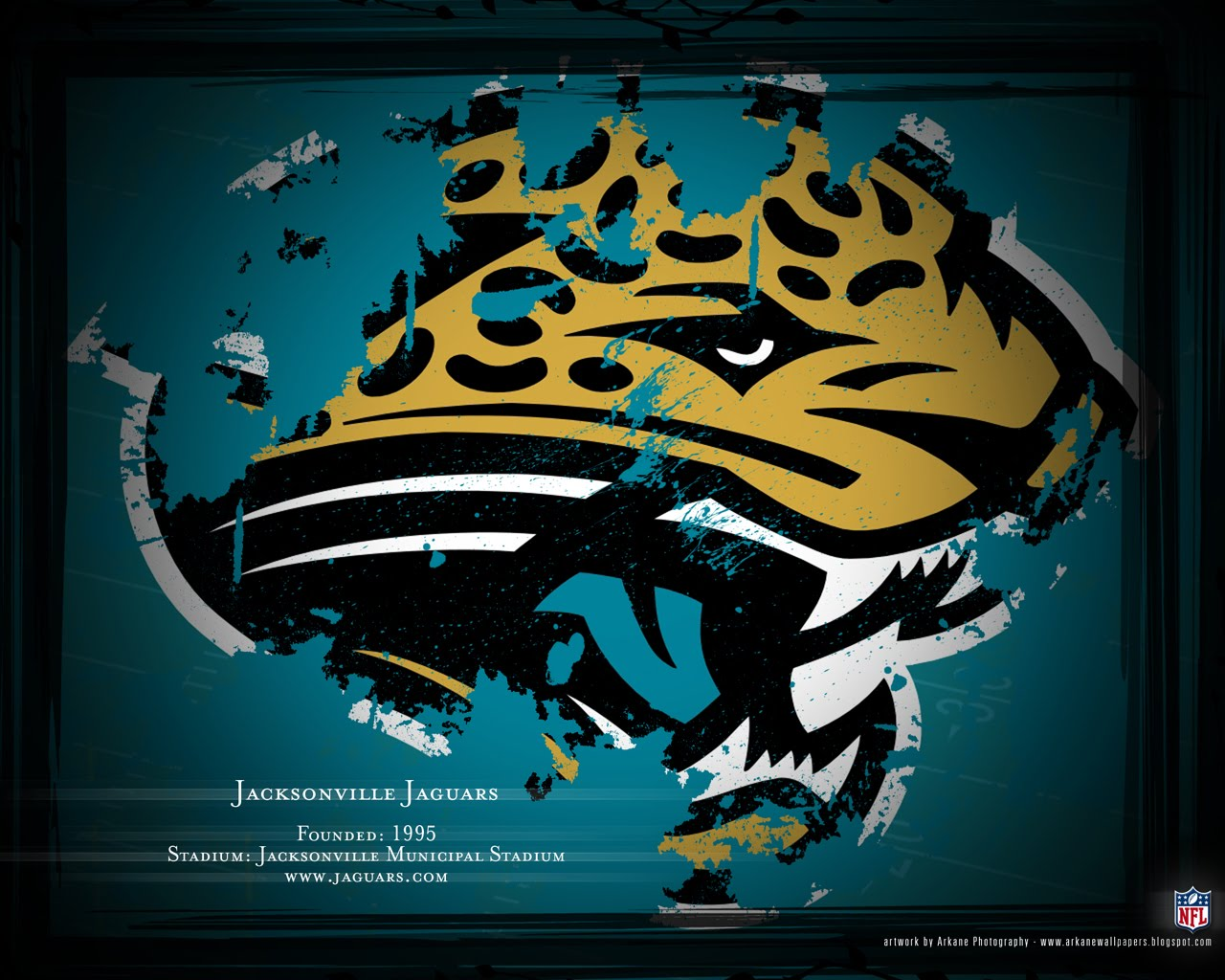Arkane NFL Wallpapers Profile   Jacksonville Jaguars 1280x1024