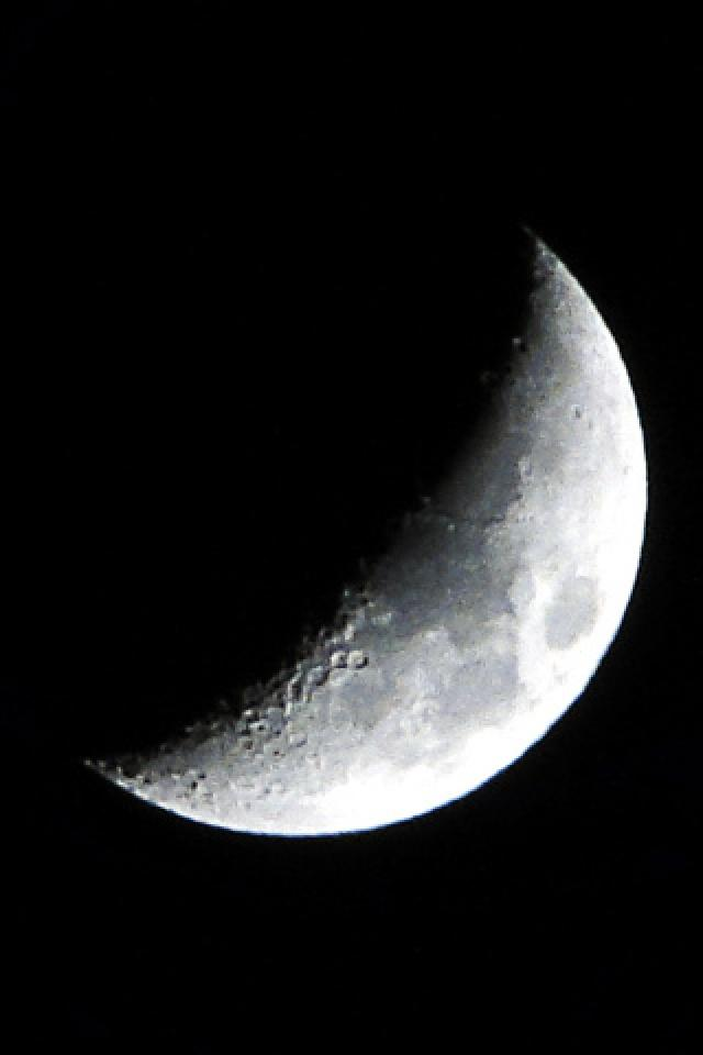 iphone half moon moon iphone wallpaper wallpapersafari 11907