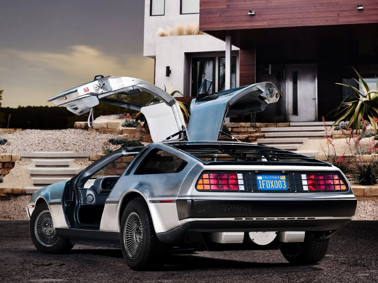 download Delorean background ID247960 hd 1280x960 for computer 1280x960