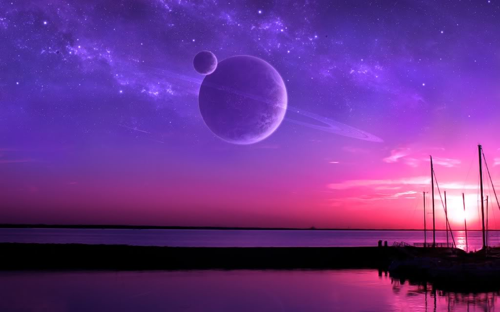 Purple And Pink Sunset wallpaper 6434jpg Photo by madszckey01 1024x640