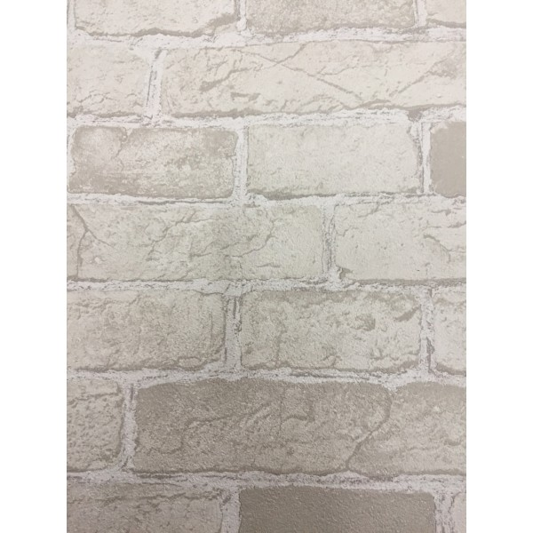 Taupe Beige Brick Wallpaper   Wallpaper Brokers Melbourne Australia 600x600