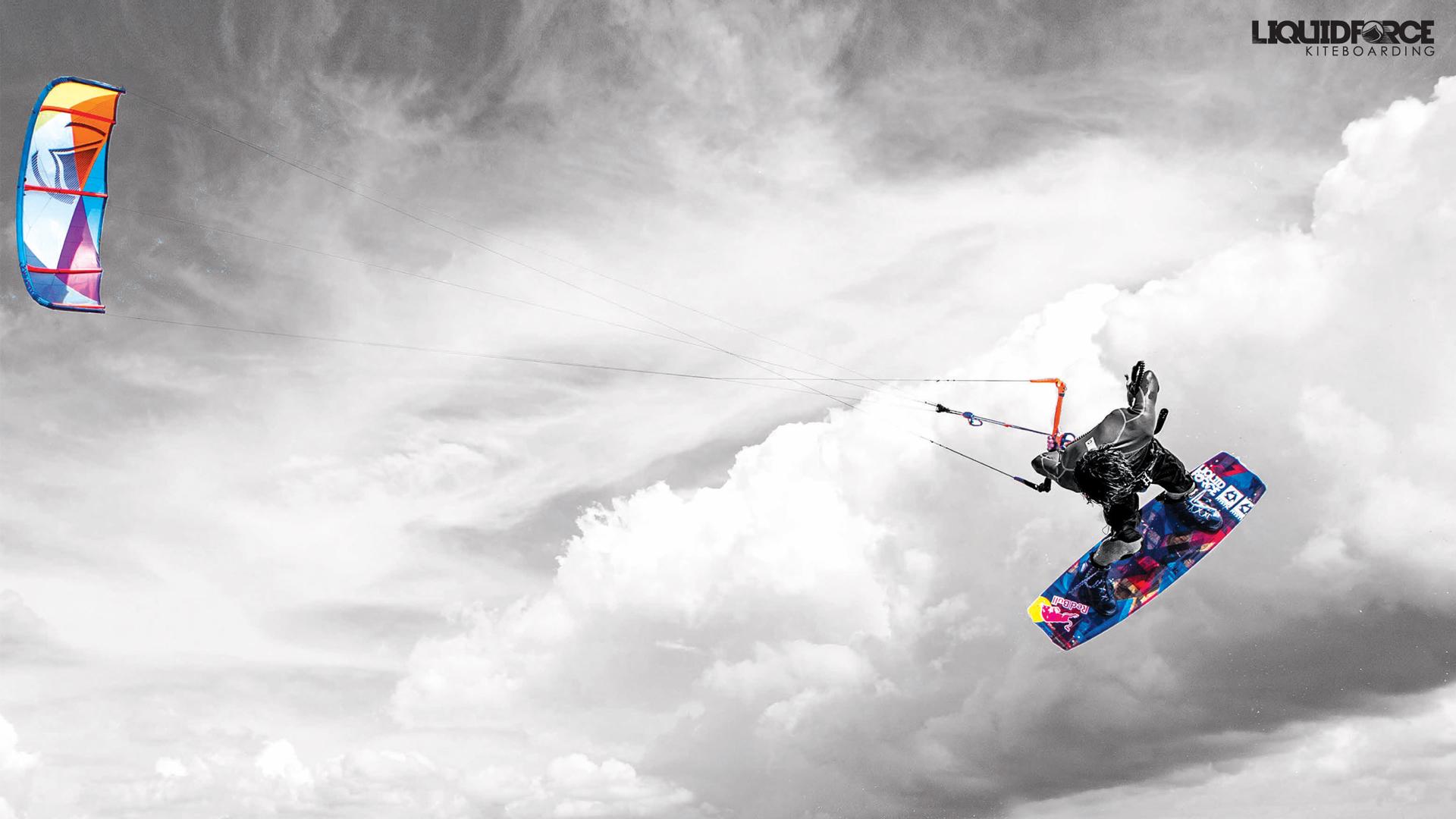 Download Liquid Force Kiteboarding wallpaper Christophe Tack 1920x1080