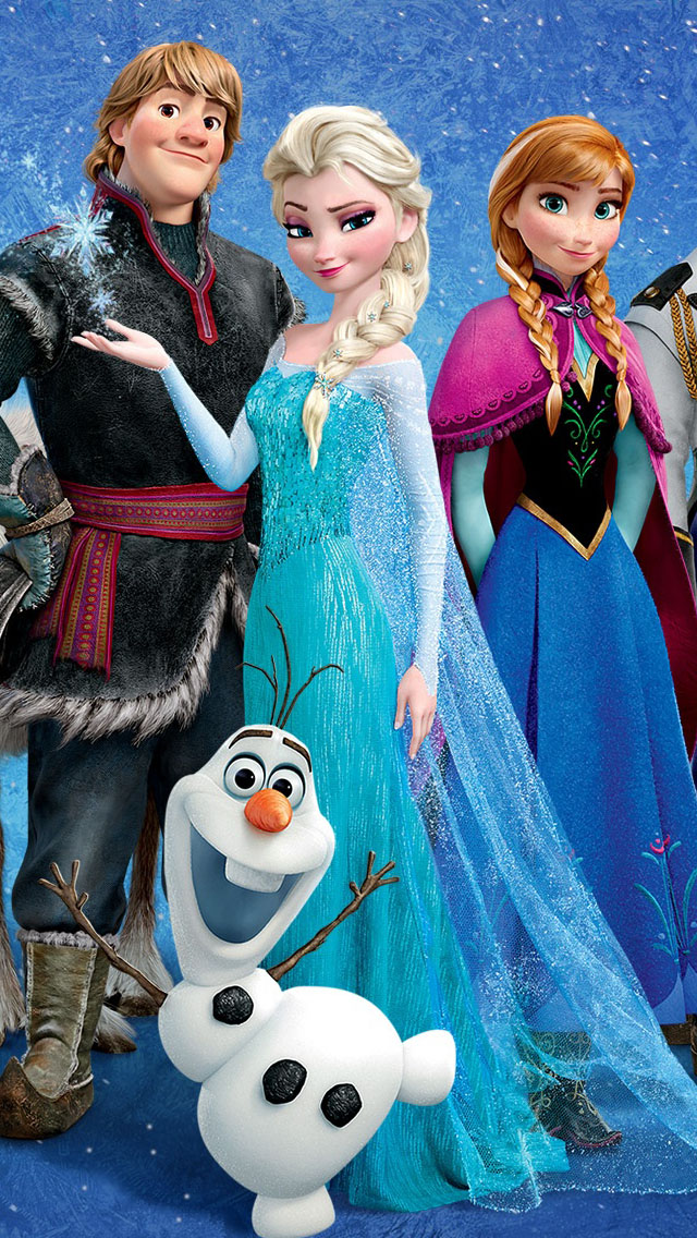 Frozen 2013 Movie Wallpaper   iPhone Wallpapers 640x1136