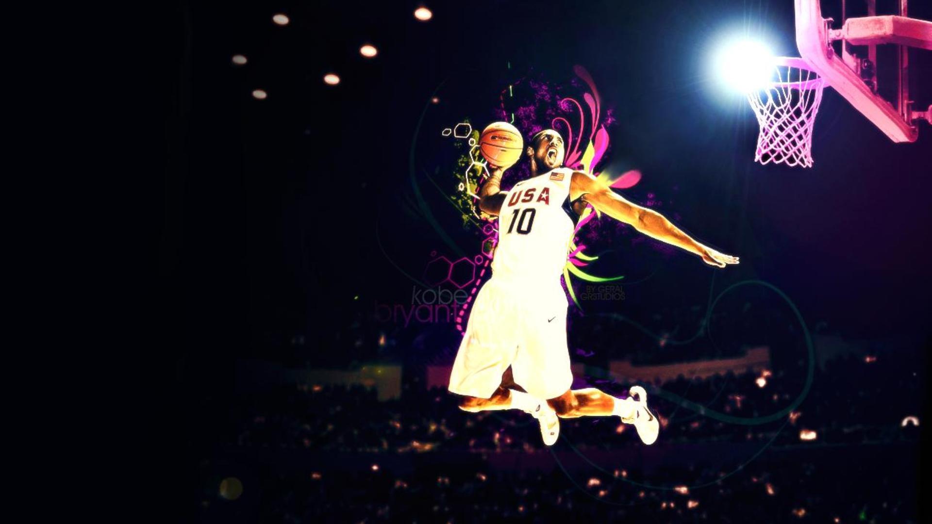 Kobe Bryant Dunk Wallpaper Hd Wallpapersafari